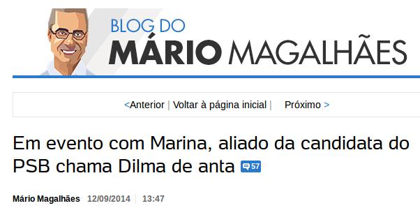 {{não acredite em mim - Blog do Mário Magalhães}}