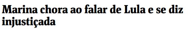 {{não acredite em mim - folha de São Paulo}}