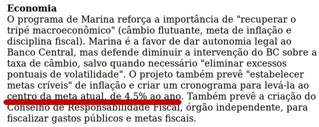 {{não acredite em mim - folha de São Paulo, sobre o programa de governo marinesco}}
