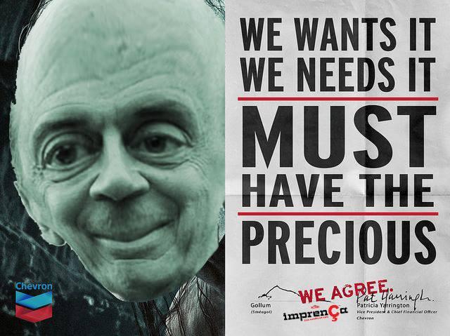 Escândalo da Petrobras e o interesse da Chevron