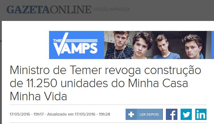 {{não acredite em mim - Gazeta Online}}