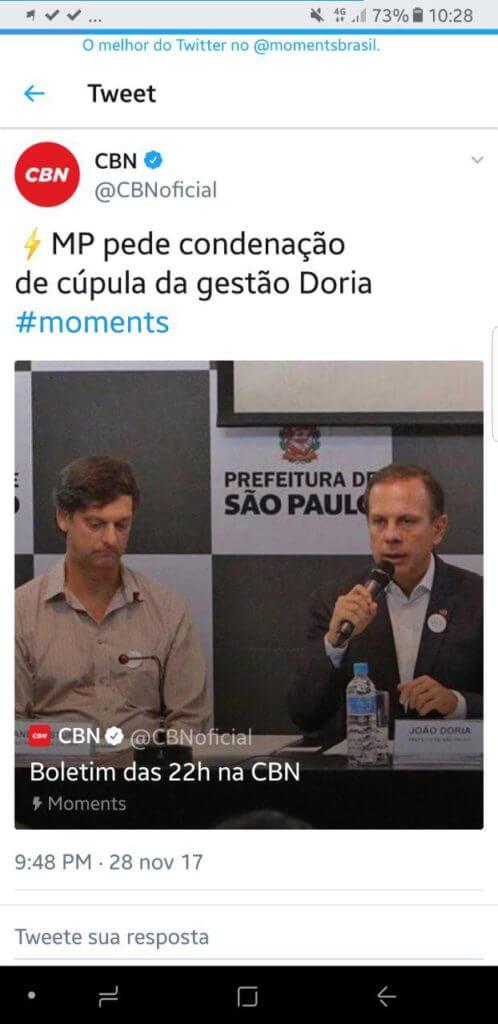 MP pede condenação de cúpula da gestão Doria por favorecimento no carnaval