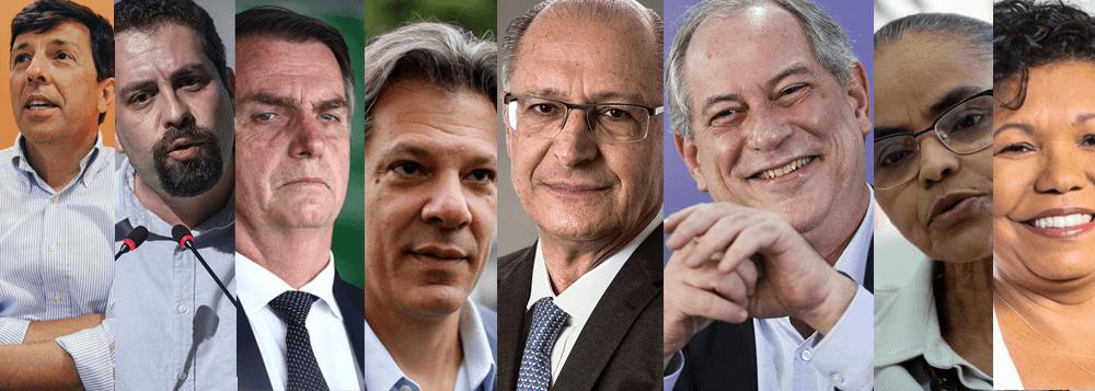 As Propostas dos candidatos a presidência em 2018