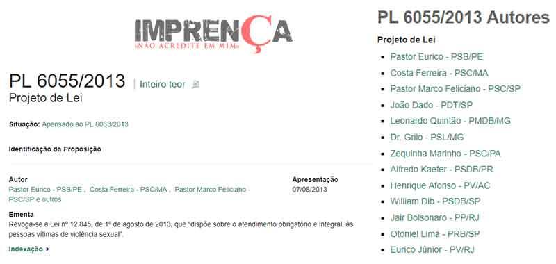 Projetos Bolsonaro