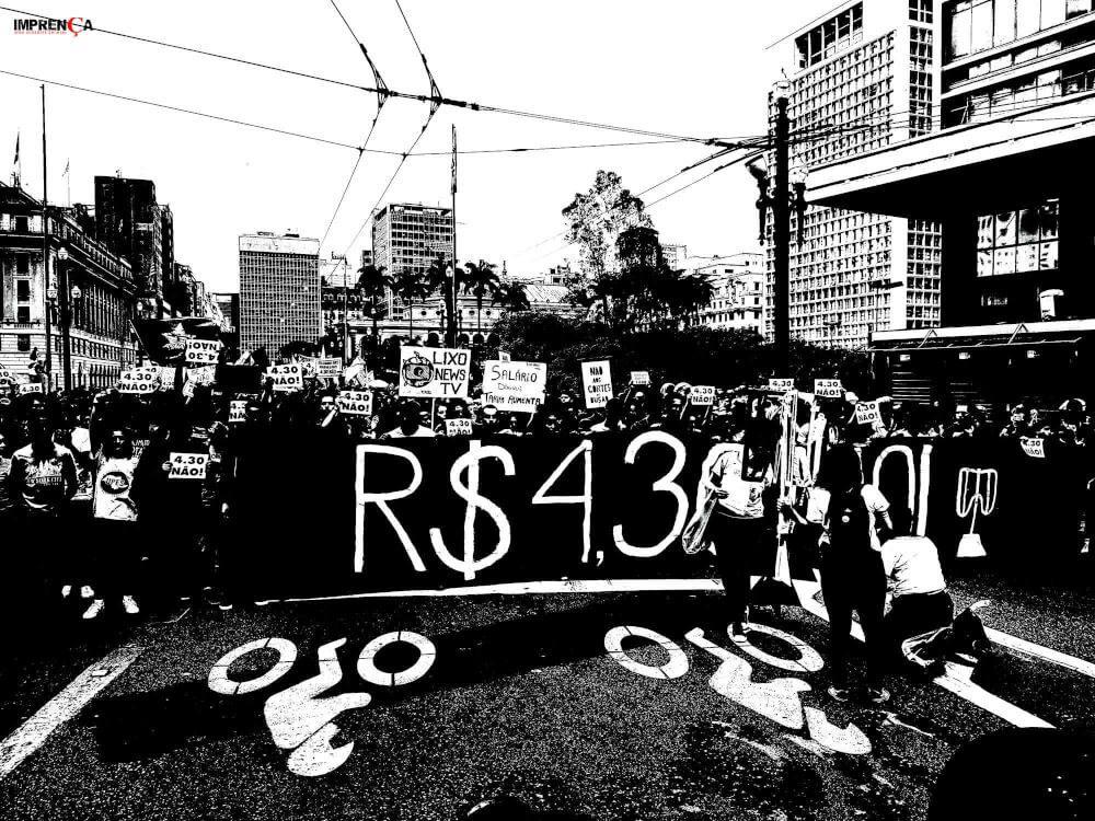 Manifestação do MPL em São Paulo