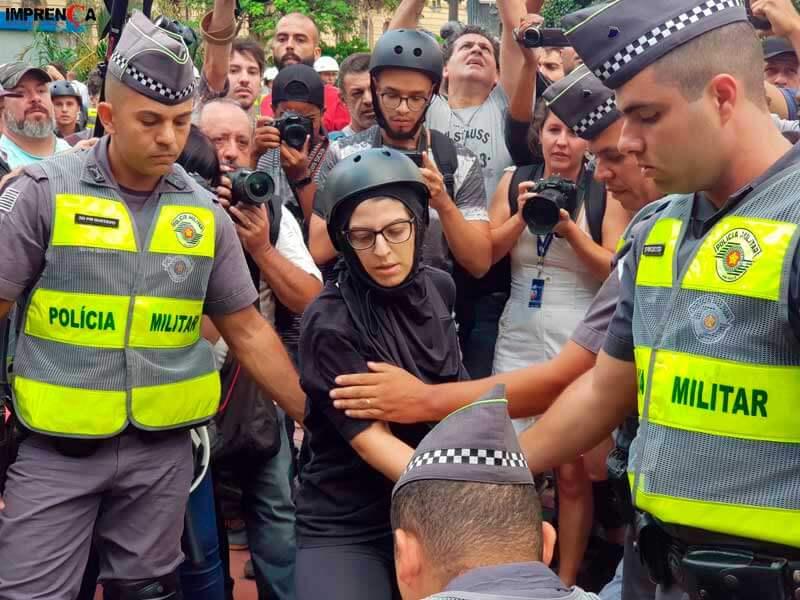 manifestante-detida