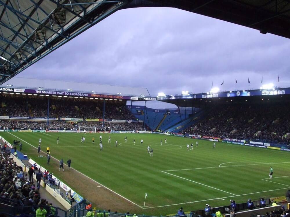 O estádio na cidade de Sheffield, palco de uma das piores tragédias do futebol
