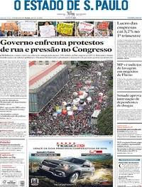 Governo enfrenta protestos de rua e pressão no Congresso