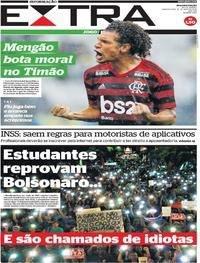 Estudantes reprovam Bolsonaro